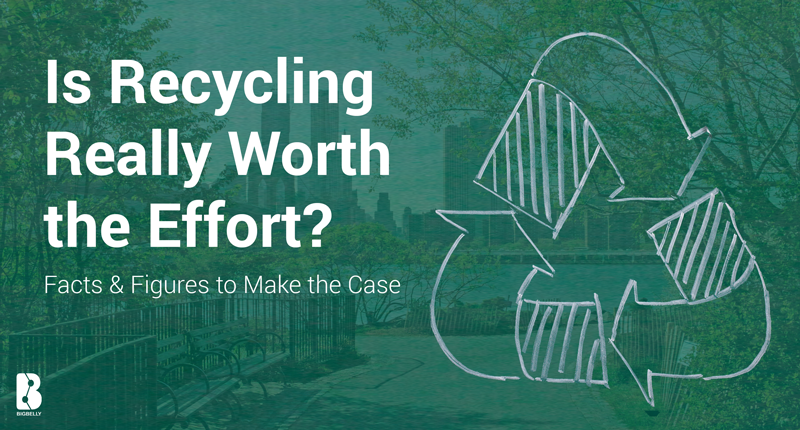 is recycling worth the effort in Recycling is beneficial and can save money and give great benefits to our environment watch this video posted by southern waste & recycling to learn more about the.