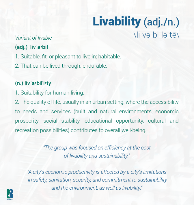 Livability-Definition