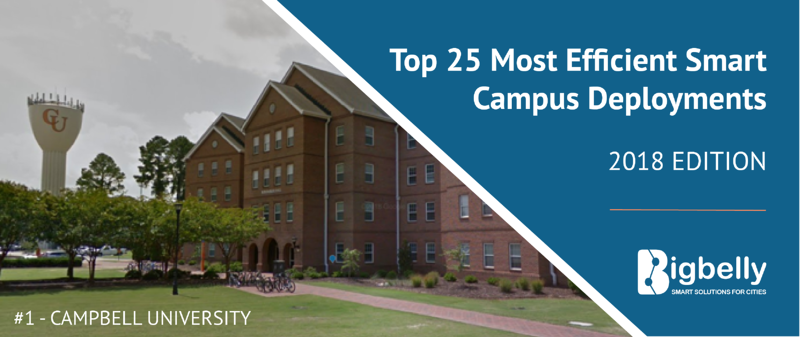 Top 25 Most Efficient Smart Campus Deployments - Bigbelly's 2018 in Review