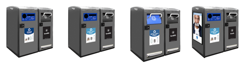 Recycle Across America Standardized Labels for Bigbelly Smart Waste and Recycling Bins