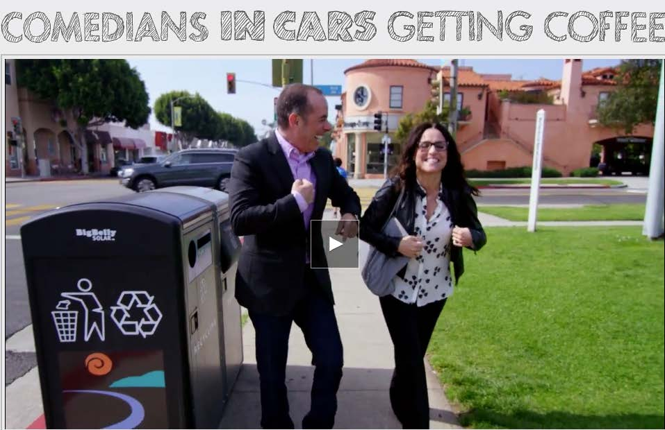 (c) Comedians in Cars Getting Coffee