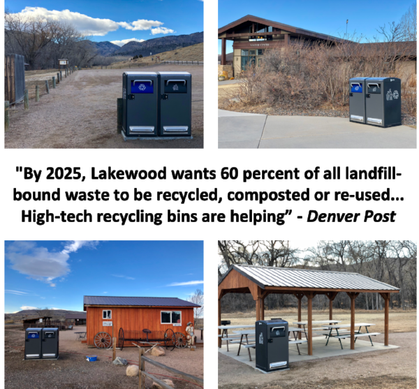 by 2025 lakewood wants 60 percent of all landfill bound waste to be recycled composted or re used high tech recycling bins are helping