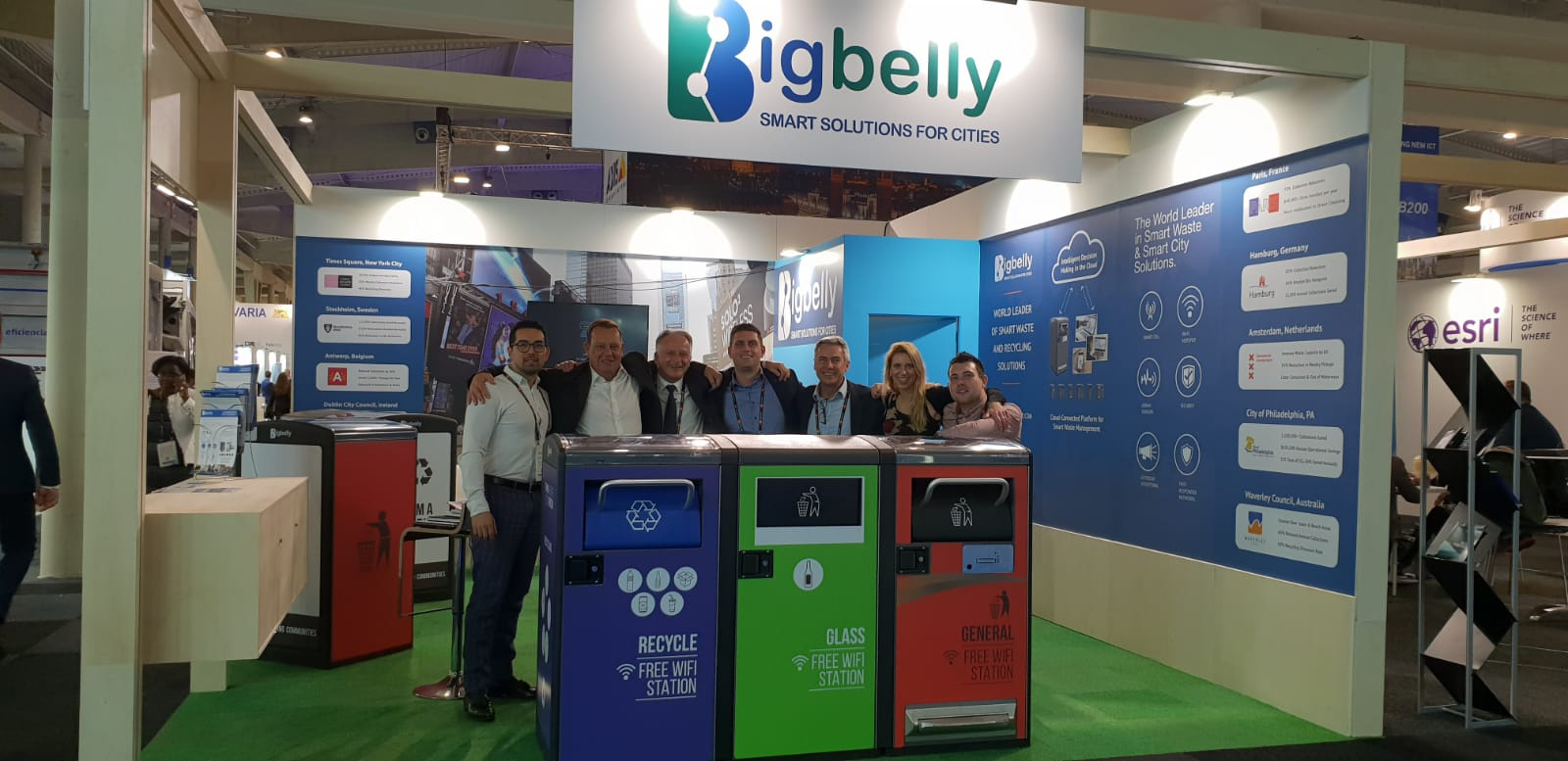 Bigbelly Future Street at Smart City Expo and World Congress 2018